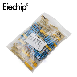 2W Metal Film Resistor 30 value Assorted set,0.1 ohm -750 ohm Ring set of resistance 1% assortment Kit 33R 39R 47R 56R 330R 390R