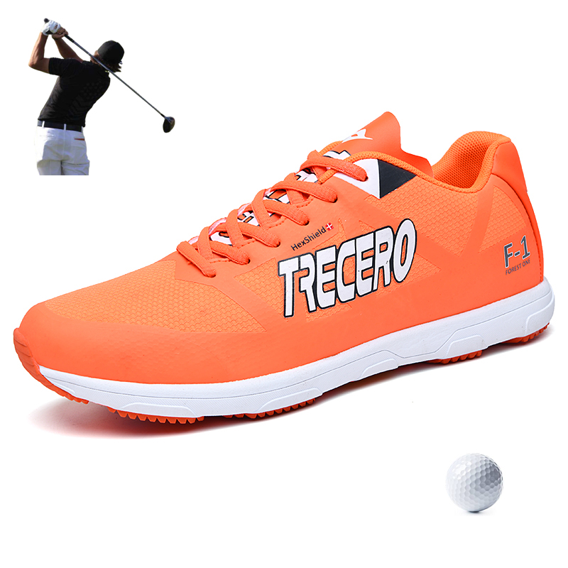 Turf Golf Shoes for Men Women Lightweight Summer Autumn Artificial Leather Golf Sneakers for Couple Grass Walking Trainers