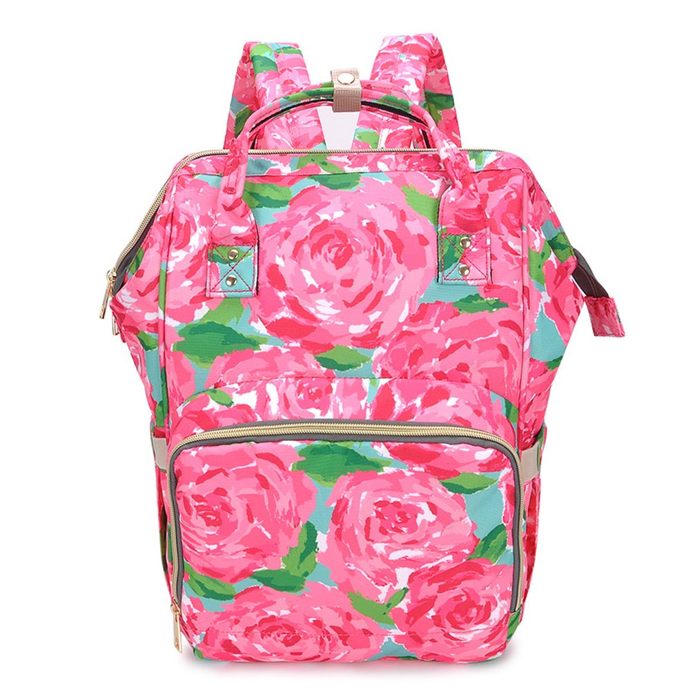 Fashion Mummy Maternity Bag Large Capacity Outdoor Travel Baby Bag Backpack Design Nappy Diaper Nursing Bags For Baby Care