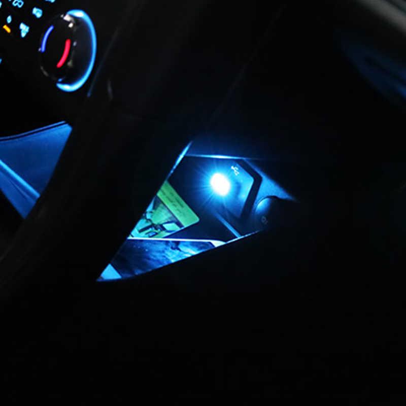 سيارة التصميم ل هيونداي توكسون 2017 سولاريس ix35 i30 سوزوكي سويفت Mitsubish ASX مازدا سيارة شاحن يو اس بي جو مصباح ليد H7