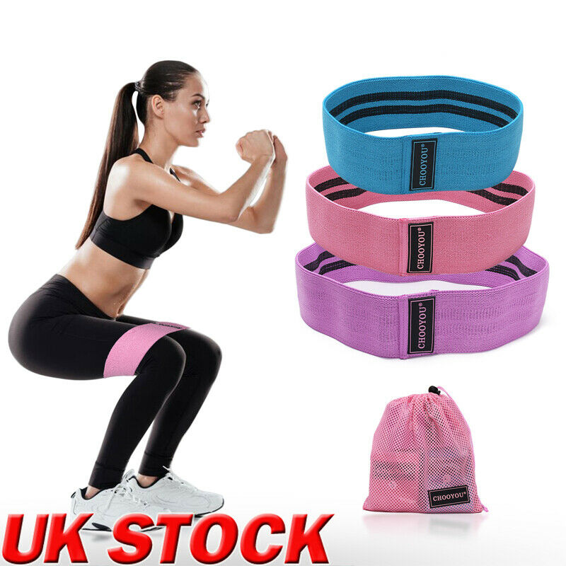 Exercise Loop Pull Up Hip Training Yoga Resistance Bands Rubber Women And Men Unisex Home Gym Fitness Workout Stretch Band