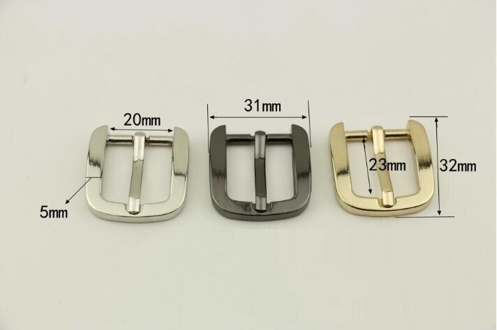 (10 Pcs/lot) Luggage Handbag Hardware Accessories High-grade Shoulder Strap Belt Metal Pin Buckle