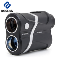 BOSEAN Golf Laser Rangefinder 600M 1000M 1500M Mini Golf Slope Adjusted Mode Sport Laser Telescope Distance Meter Rangefinder