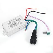 Motor Speed Controller Metal Housing CW/CCW Control DC Motor Governor Speed Controller DC9-60V 15Khz new free shipping speed governor esd5200 speed controller esd5200
