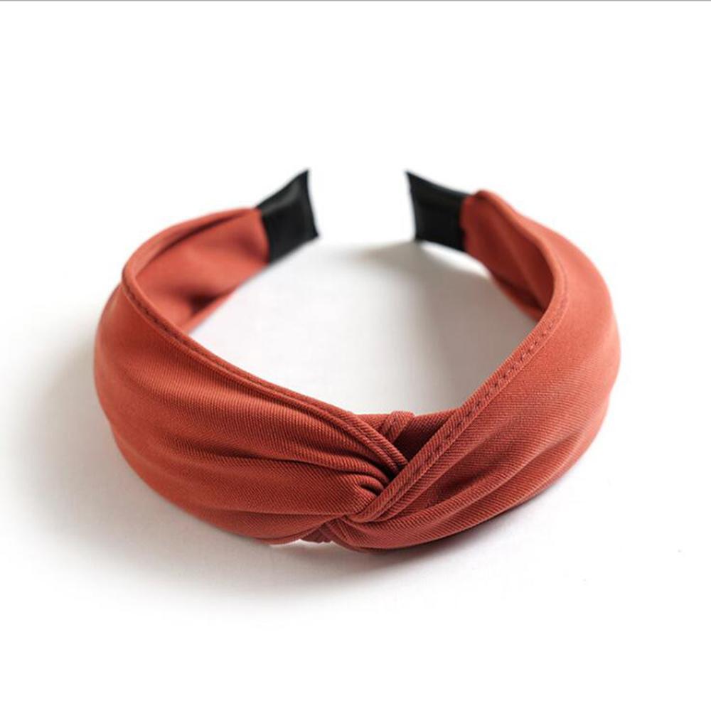 orange hairband
