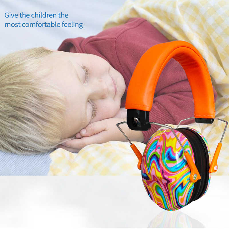 Safurance earmuff criança proteção auditiva segurança earmuffs headphoe redução de ruído protetor de ouvido do bebê fones de ouvido à prova de som