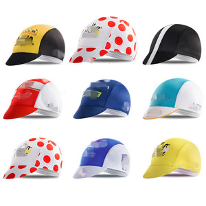 promotion MTB Brand Quick-drying polyester cycling team cap breathable multicolor fabric free size UV proof riding hat man woman