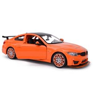 Image 2 - Maisto voiture de sport, jouet, voiture de sport, moulé sous pression statique, modèle à collectionner, BMW M4 GTS, 1:24