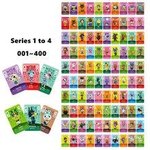 Tarjeta de Animal Crossing, nuevos horizontes para juegos de NS, tarjeta Amibo Switch/Lite, NFC, tarjetas de bienvenida, serie 1 a 4