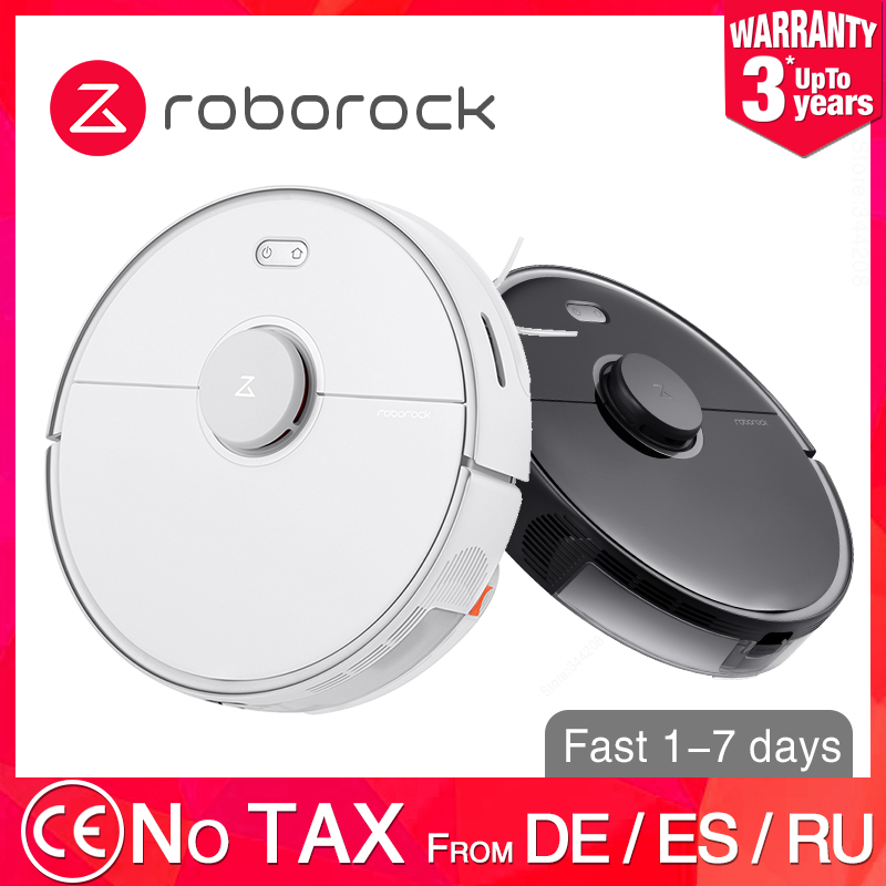 Roborock S5 Max XIAOMI MIJIA Robot Vacuum Cleaner 2 for Home Automatic Sweeping Dust Sterilize Washing Mop Smart Planned WIFI|Vacuum Cleaners|   - AliExpress