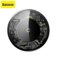 Baseus 10 واط تشى اللاسلكية شاحن آيفون X اللاسلكية شحن شاحن لسامسونج غالاكسي S9 شاومي الهاتف المحمول USB شاحن الوسادة