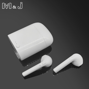 Image 5 - Hot Sell M&J i7 Mini Bluetooth 5.0 TWS Small Wireless Earphone With Charging Box Stereo i7s Headphones for All Phone