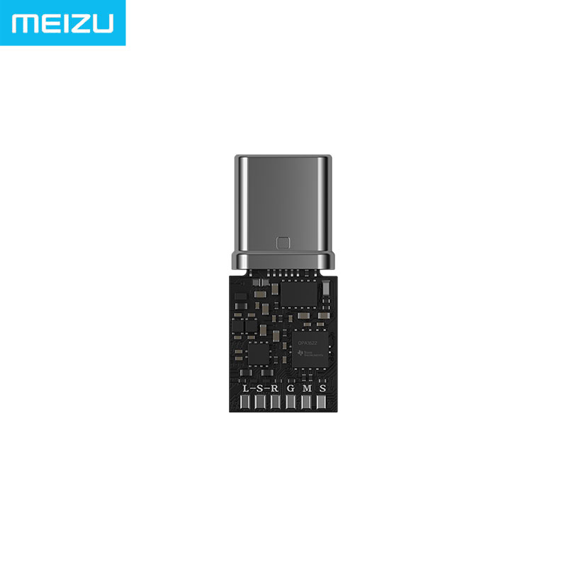 Meizu HIFI DAC Headphone Amplifier PRO Cirrus and TI Super two stage amplifier lossless Type-C to 3.5mm audio adapter
