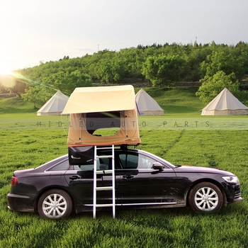 Outdoor Camping Car Roof Tent For 1-2 Person Camp Tent