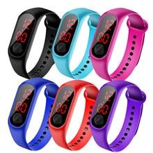 Enfants montre Led en plein air Sport numérique étanche horloge pour garçons filles multifonction électronique montre-bracelet enfants montres 2020