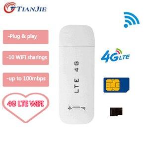 Image 1 - Roteador sem fio do usb 3g/4g wifi do roteador de dados do cartão do sim de lte usb modem do carro 4g wifi sem fio
