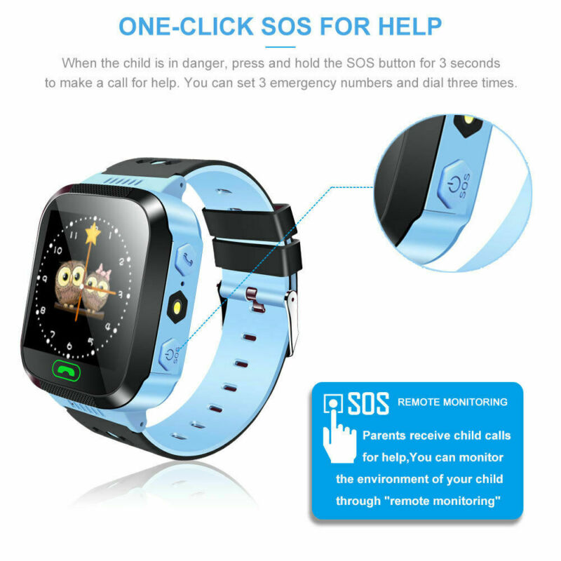 <font><b>Q528</b></font> <font><b>Kids</b></font> <font><b>Smart</b></font> <font><b>Watch</b></font> with GPS GSM Locator Boy Girl Touchscreen Smartwatch Tracker SOS for <font><b>Kid</b></font> Children image