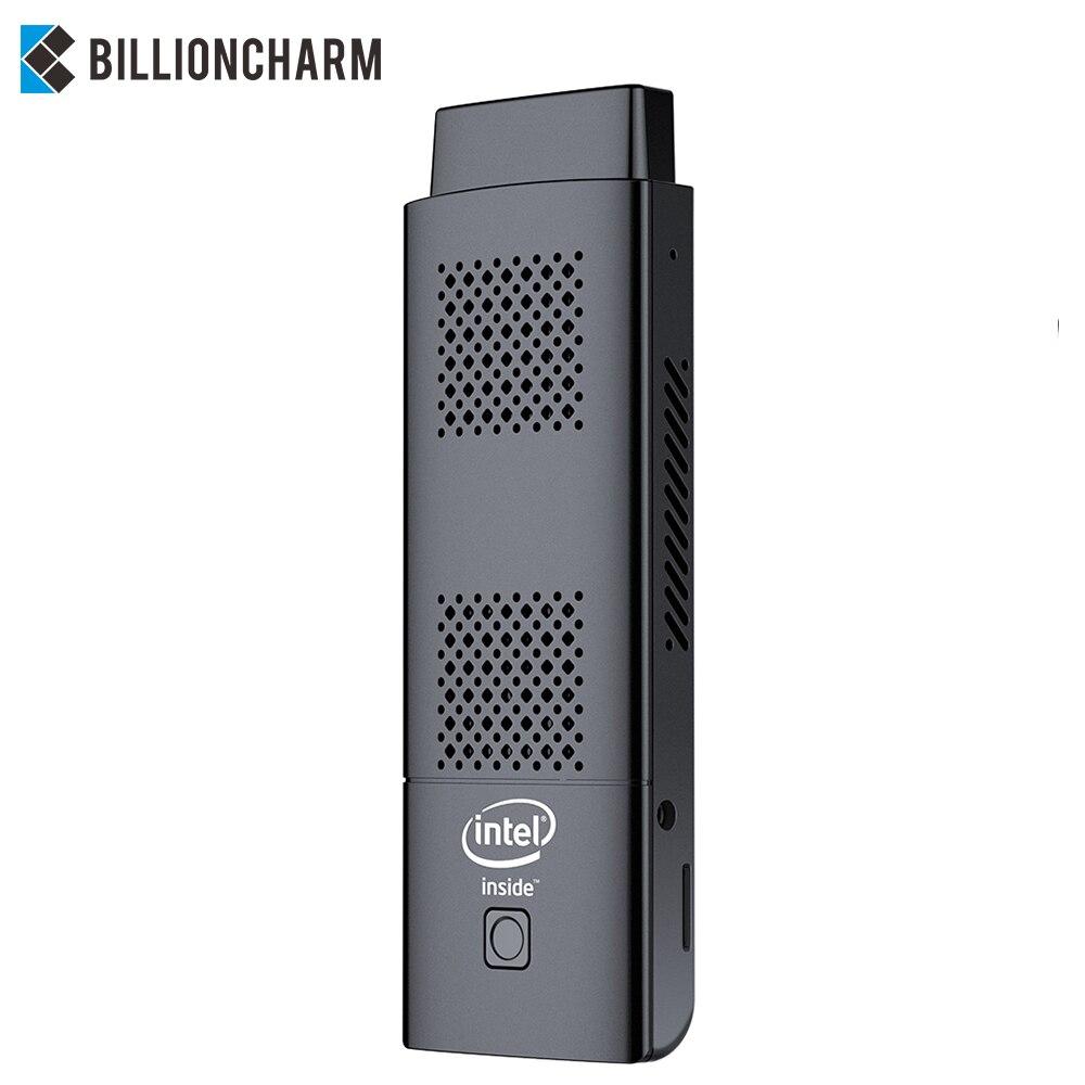 Mini PC Stick Intel Celeron N4100 Quad-cores 4GB LPDDR4 128GB eMMC HDMI 2.0 4K 60Hz 2.4G/5.0G WiFi Bluetooth 4.2 Windows 10