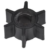 Pompe à eau roue en caoutchouc noir pour Tohatsu/Mercury/Sierra 2/2. 5/3. 5/4/5/6HP moteur hors-bord 6 lames pièces de bateau et accessoires