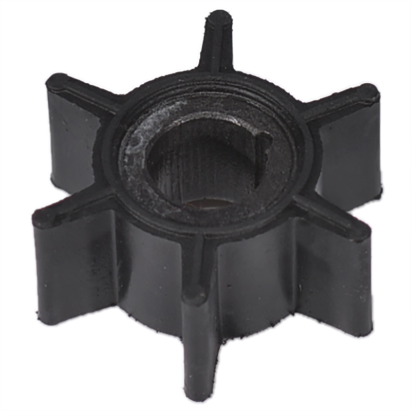 Water Pump Impeller Black Rubber For Tohatsu/Mercury/Sierra 2/2.5/3.5/4/5/6HP Outboard Motor 6 Blades Boat Parts & Accessories|Boat Engine| |  - title=