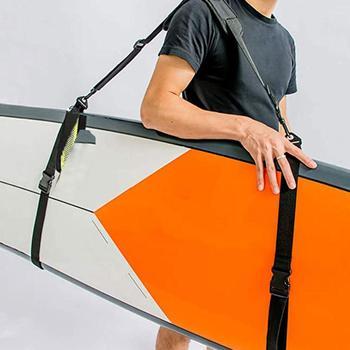 Universal Surfboard Paddle SUP Surfing Board Shoulder Strap Sling Belt Carrier new adjustable surfboard shoulder carry sling stand up paddle board strap sup board surf fins paddle wakeboard surfing kayak