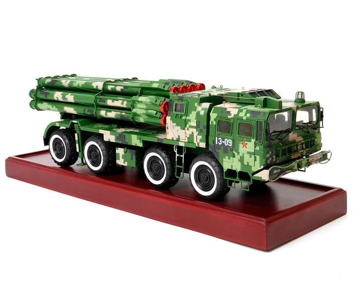 Metal 1: 30PHL03 long-range rocket launcher model wholesale simulation military armored combat vehicle model