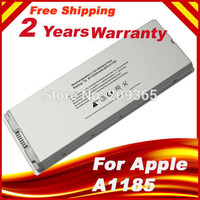HSW Special Price Battery for Macbook 13 MAC A1185 A1181 MA566FE/A MB881LL/A White 55Wh fast shipping