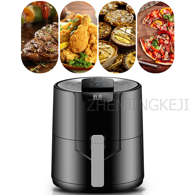 Air Fryer Multifunction Multicooker Without Oil Degreasing High Capacity Kitchen Electric Fryer Intelligent French Fries Machine