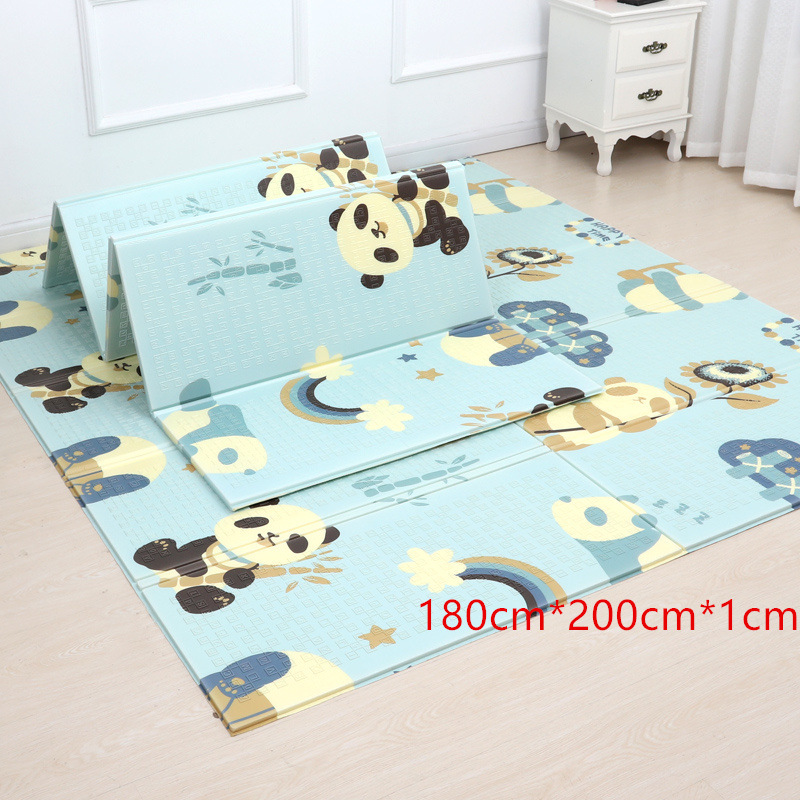 About Product: Factory Direct Thickened Double-Sided Household Mats Baby Game Pad Baby Papa Dian Folding Crawling Mat