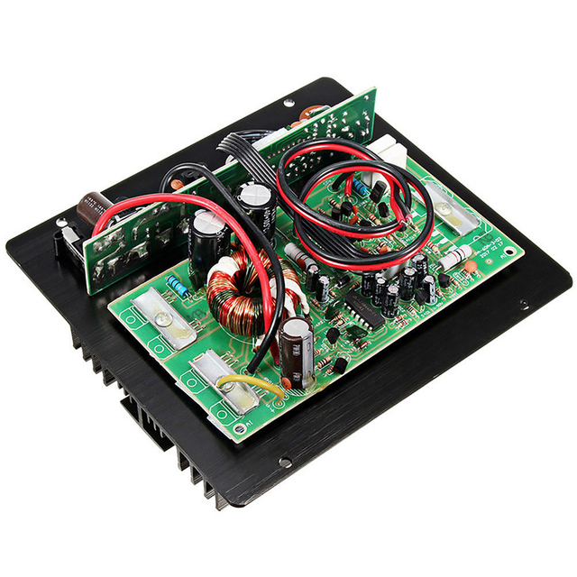 12V 600W PA-60A High Power Bass Sound Car Audio Lossless Module Accessories Speaker HIFI Amplifier Board Mono Channel Durable 1
