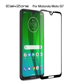 Перейти на Алиэкспресс и купить Полное Защитное стекло для Motorola G7 G6 E6, Защитное стекло для экрана для Moto G7 Play G7 power G6 E6 E5 Plus, стеклянная пленка