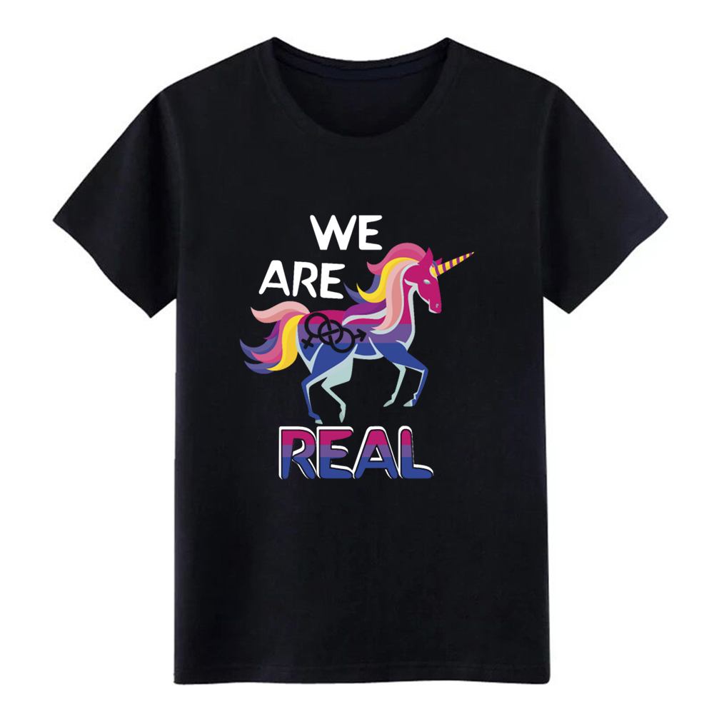 <font><b>bisexual</b></font> pride bisexuality unicorn and <font><b>bisexual</b></font> t <font><b>shirt</b></font> create cotton S-XXXL clothing Interesting Casual Spring Autumn <font><b>shirt</b></font> image