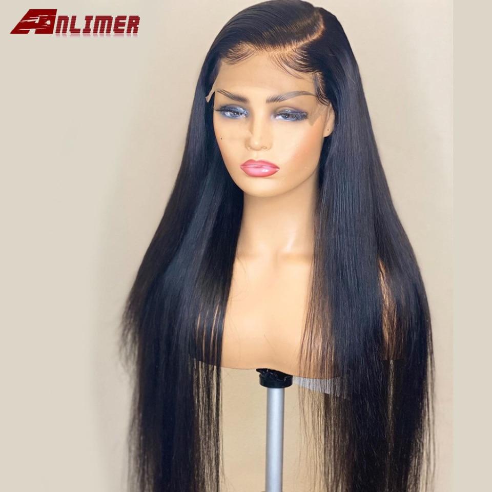 humano cor natural remy cabelo 13x4 perucas