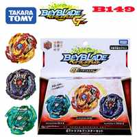 2019 New Genuine TAKARA TOMY Beyblade Burst Toys GT B-149 Royal Giants Blasting gyro Three sets beyblade toy