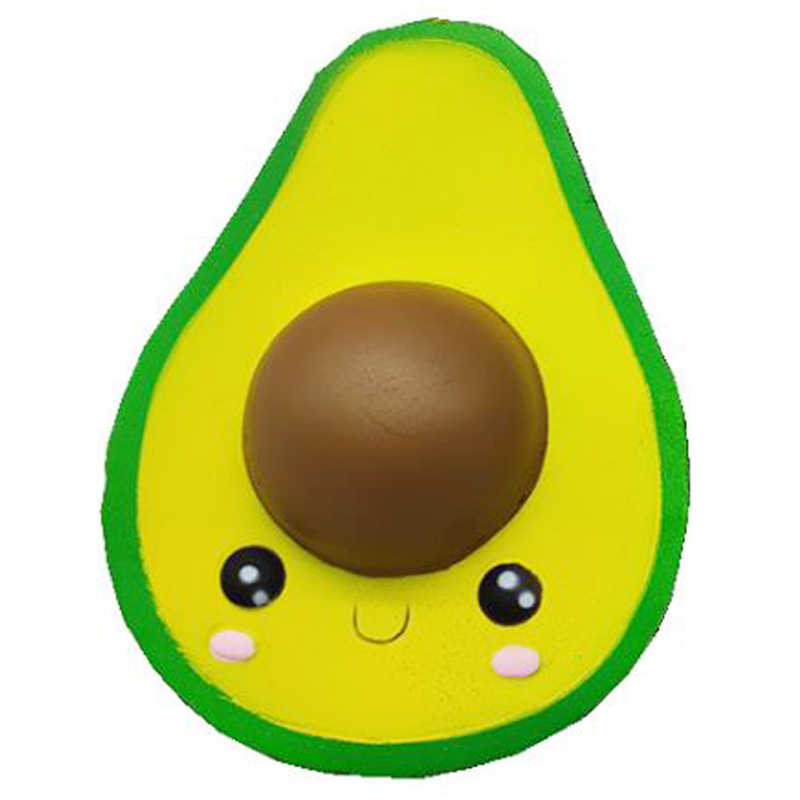 Squishy Avocado Fruit Kawaii  Squeeze Toys Simulated  Phone Straps Slow Rising Charms Scented Gifts Toys Stress Reliever Fun