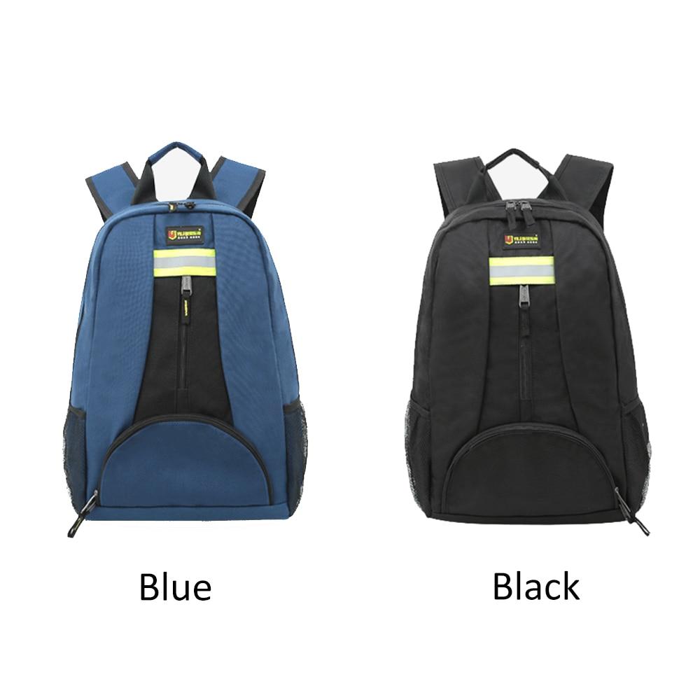 Multitul Backpack Shoulder Toolkit Thickened Waterproof Wear Resistant Oxford Cloth Electrician Repair Tool Bag Large