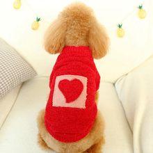 Теплая одежда для домашних животных на осень и зиму свитер kawaii