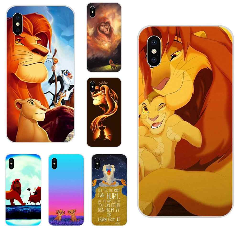 สำหรับ LG K50 Q6 Q7 Q8 Q60 X Power 2 3 Nexus 5 5X V10 V20 V30 V40 Q Stylus TPU ใหม่แฟชั่น Hakuna Matata On Sunset Lion King