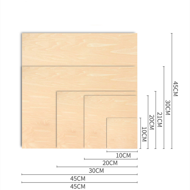 Custom DIY Wood Veneer Sheet Panel Handcraft Handwork
