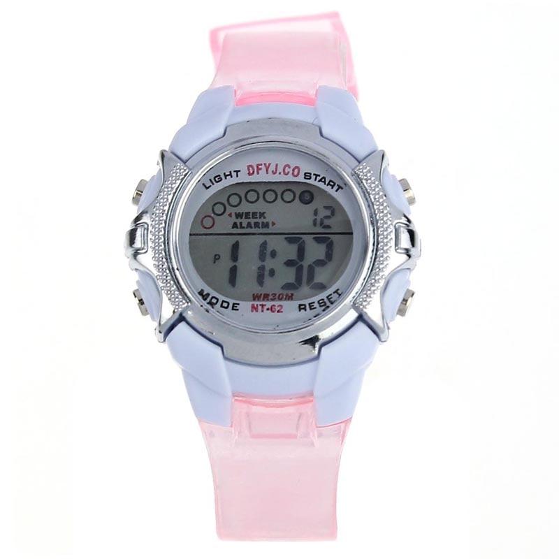 Fashion KId Watch Children Girls Digital LED Sports Wrist Watch