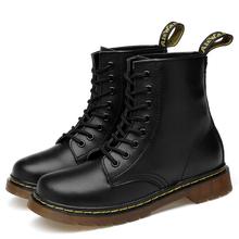 2021 kobiet Martens buty kobieta buty Botines buty dla par dorywczo Adulto odkryty łodzie Bascke Chaussures Femme Zapatillas Mujer tanie tanio XIATIANJIA CN (pochodzenie) Z dwoiny Do kolan Płytkie Stałe 1460 Dla osób dorosłych Płaskie z SZTYBLETY okrągły nosek