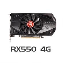 Video-Card Computer-Video Gaming Desktop GDDR5 Express3.0 Radeon Rx VEINEDA 550 4gb PCI
