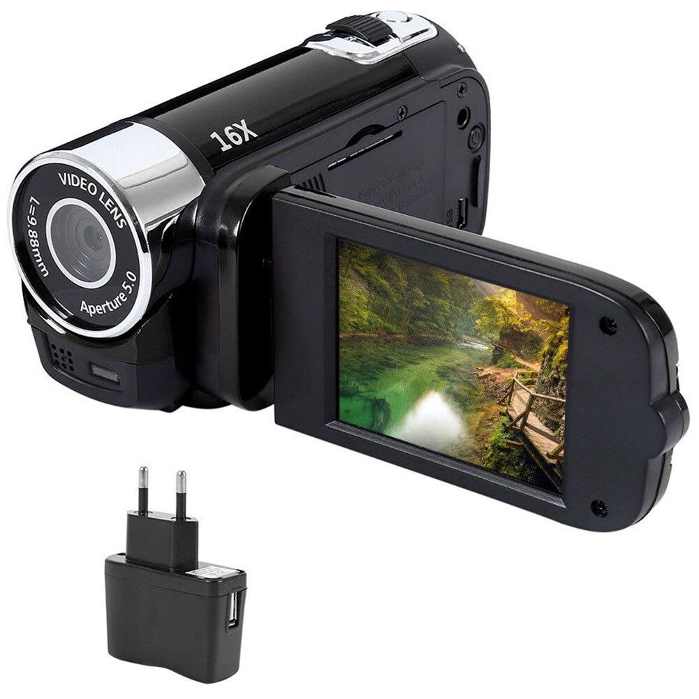 1080P Anti-shake Presentes Câmera Digital Portátil Profissional Câmara de vídeo de Alta Definição Clara Tiroteio Wi-fi DVR Da Visão Nocturna