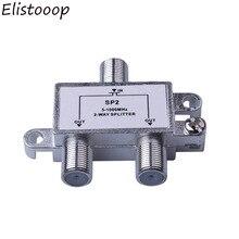 2 weg TV HD Signal Kabel Splitter ANT SAT TV Signal Mixer Digital Satellite Combiner Diplexer VHF UHF
