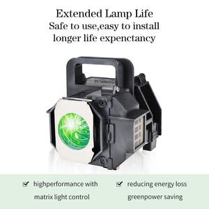 Image 3 - GRAND 호환 프로젝터 램프 전구 EPSON ELPLP49 용 EH TW3600 PowerLite HC 8350 EH TW3200 하우징 포함