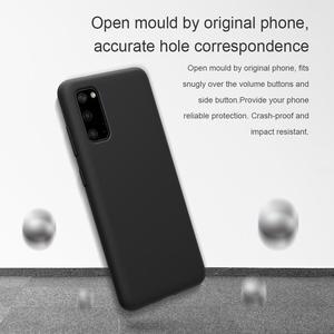 Image 4 - NILLKIN フレックス純粋なサムスンギャラクシー S20/S20 プラス/S20 ウルトラカバー液状シリコーン保護バックカバー電話ケース