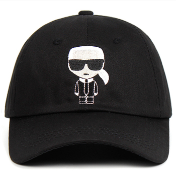 2021 Cartoon Brand Dad Hat 100% Cotton Embroidery Women Man Baseball Cap Snapback Unisex Dropshipping