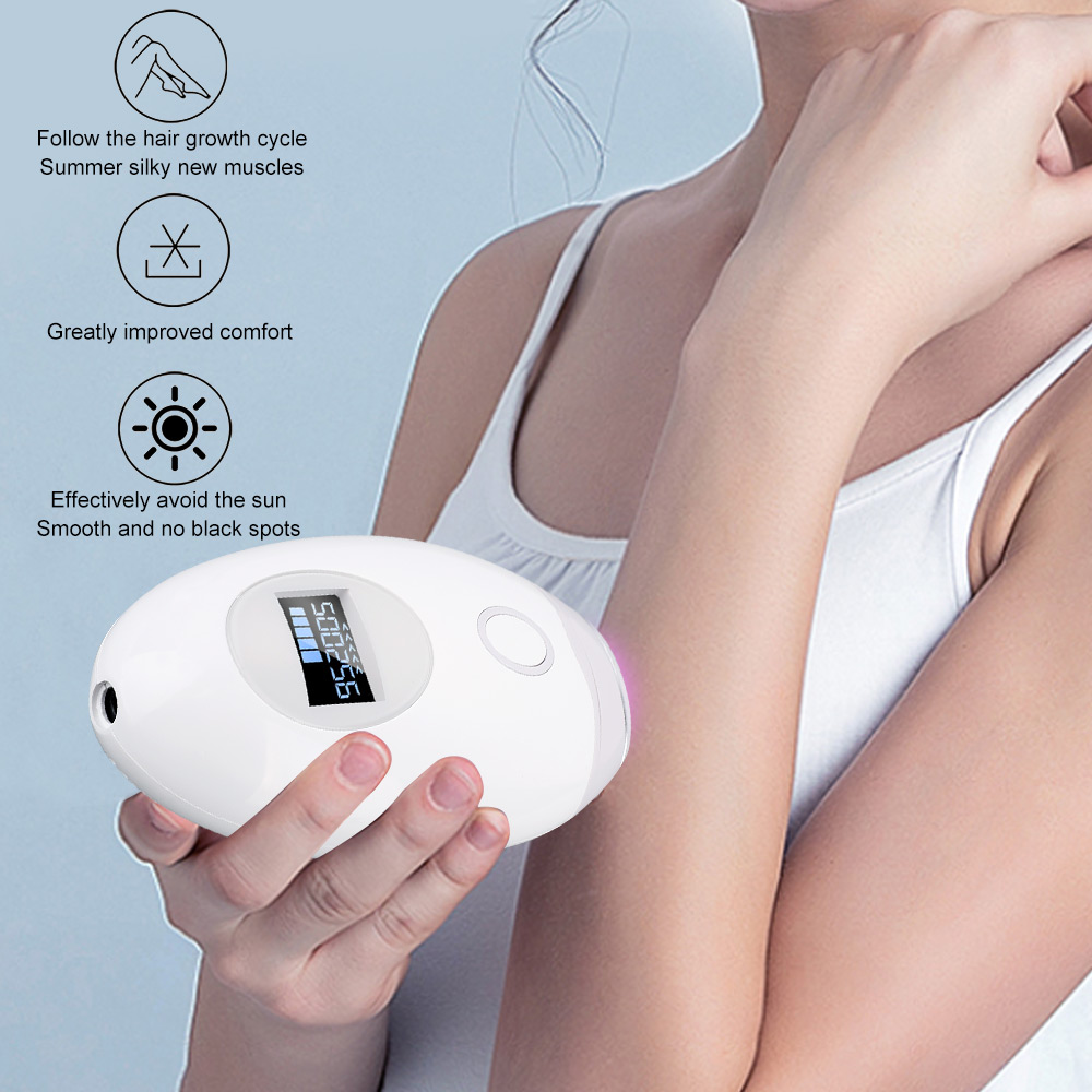 500000 Flash Handheld Ipl Laser Epilator Women Men Hair Removal