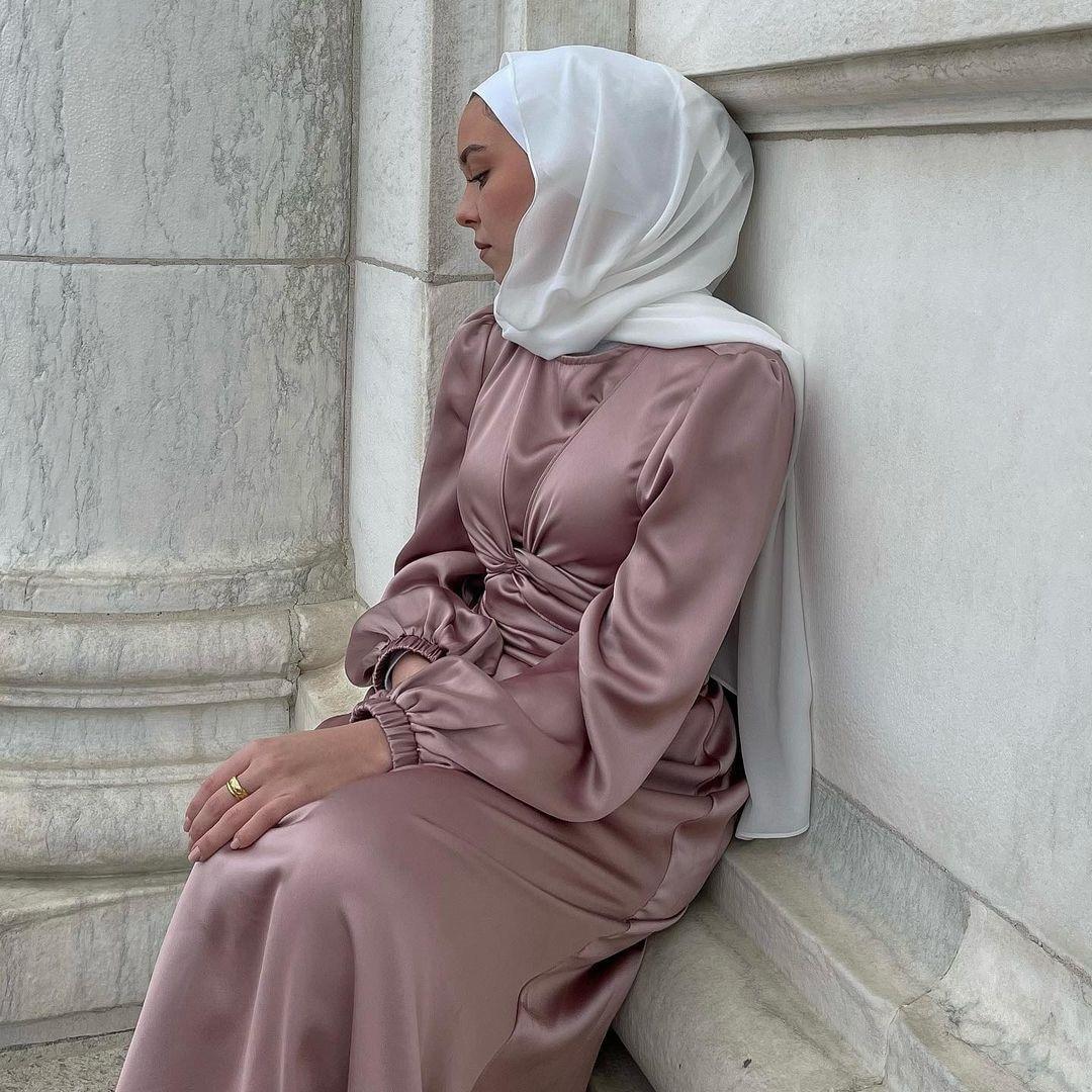 Abayas para as mulheres eid ramadan vestido