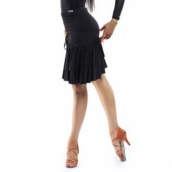 Latin Dance Skirt Fringe Dress New Professional Latin Dance Dress Women Practice Clothes Tassel Skirt Performance Wear DQS2932